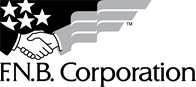 FNB Corporation Black & White Logo