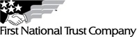 First National Trust Company Logo