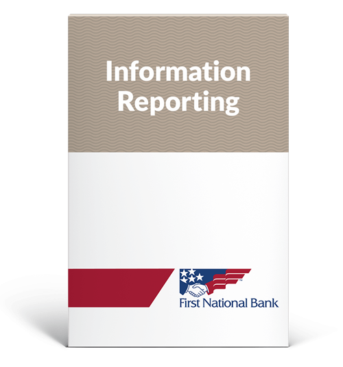 Information Reporting box