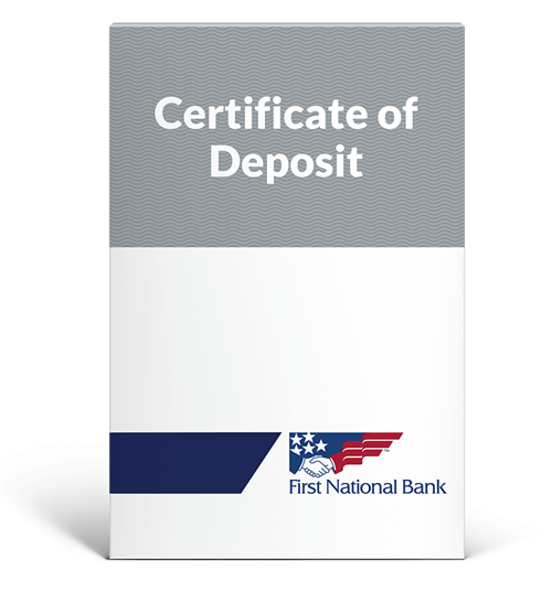 Certificate of Deposit box