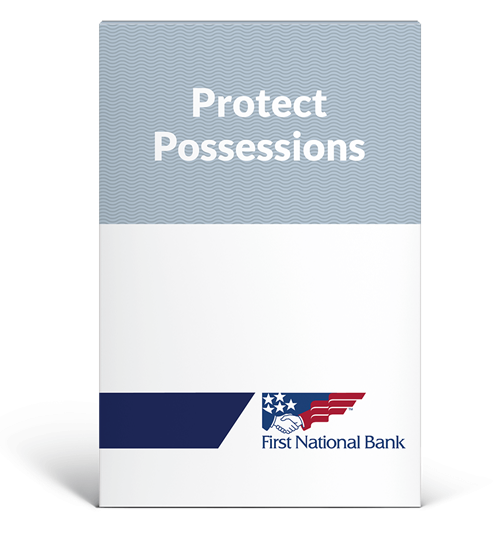 Protect Possessions box