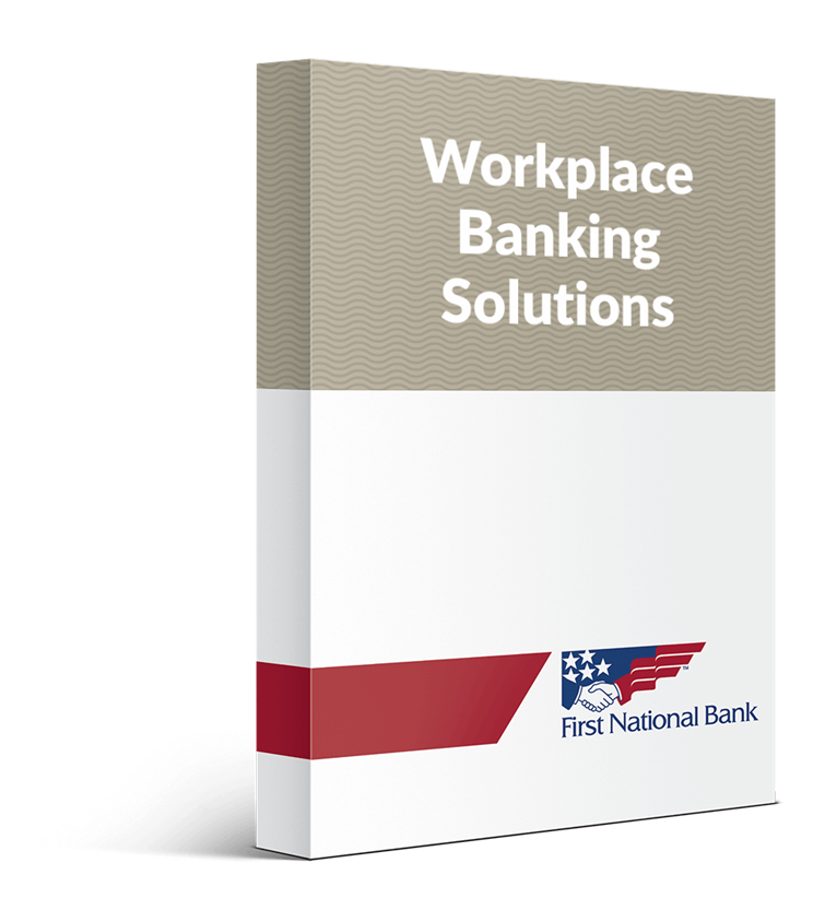 Workplace Banking Solutions box