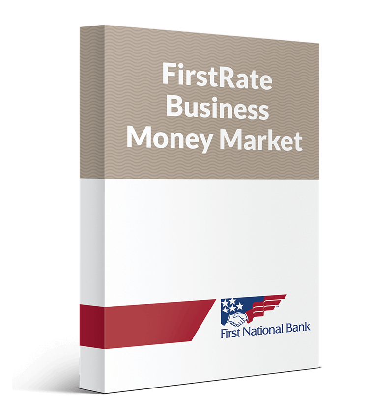 FirstRate Business Money Market box