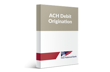 ACH Debit Origination