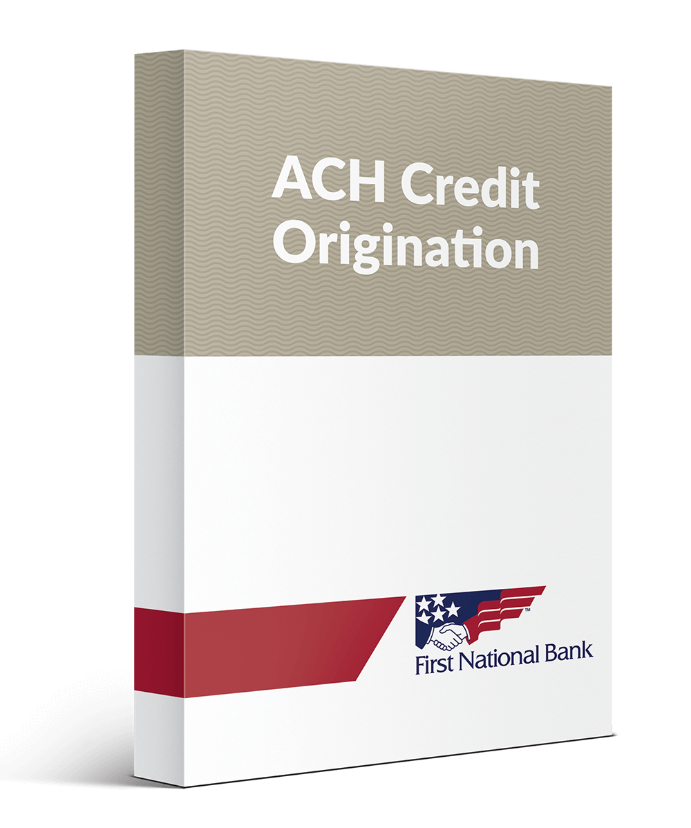 ACH Credit Administration