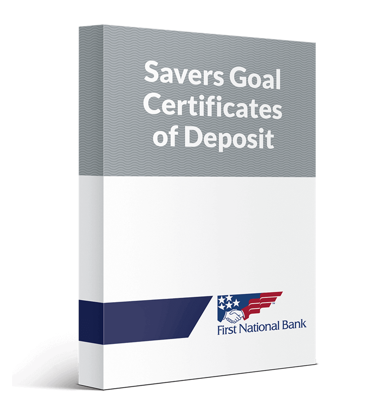 Savers Goal Certificate of Deposit box