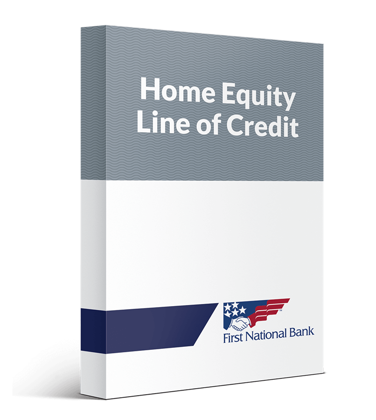 Home Equity Line of Credit box