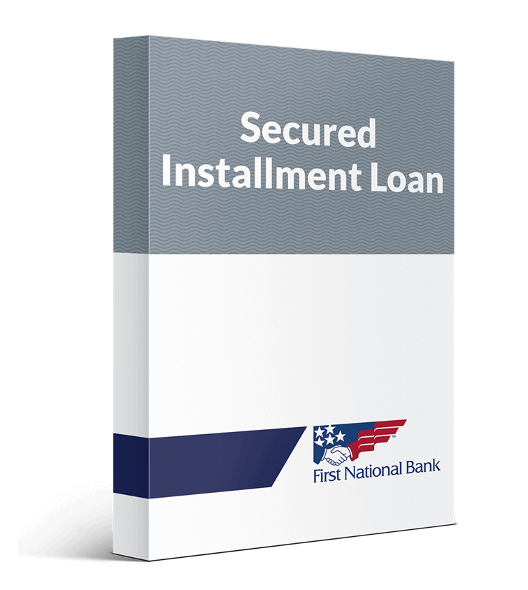 Secured Installment Loan box