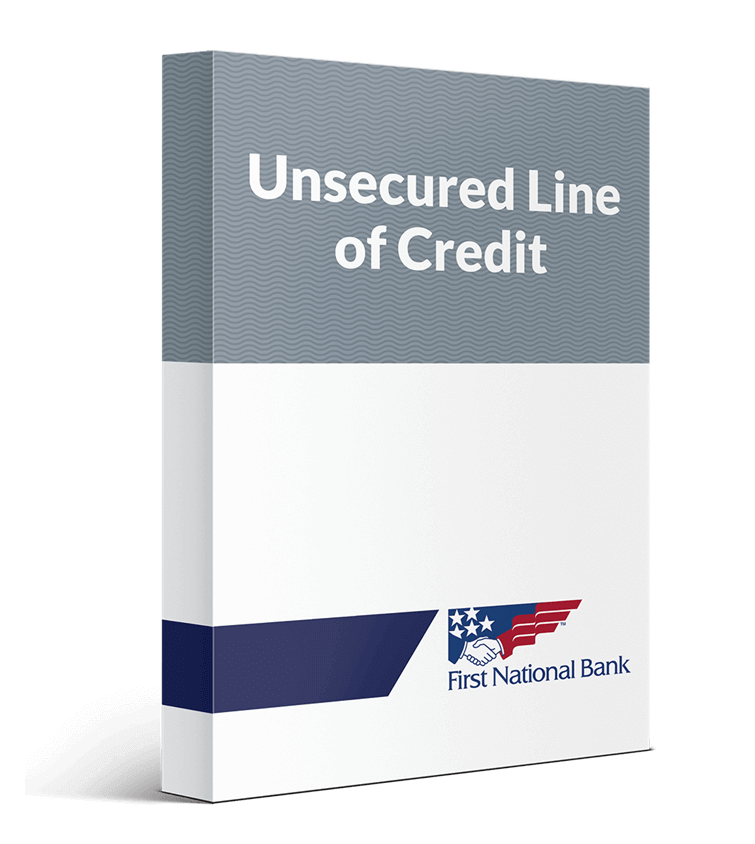 Unsecured Line of Credit Loan box